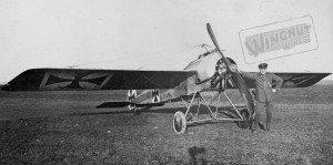 Fokker E.III 408~15 Eduard Bohme (0543-062)